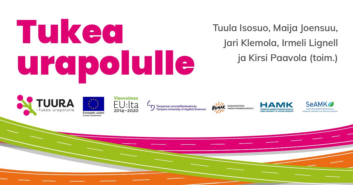 Linkki Tukea urapolulle -julkaisuun: https://www.humak.fi/wp-content/uploads/2020/12/tukea-urapolulle-tuura-2020.pdf