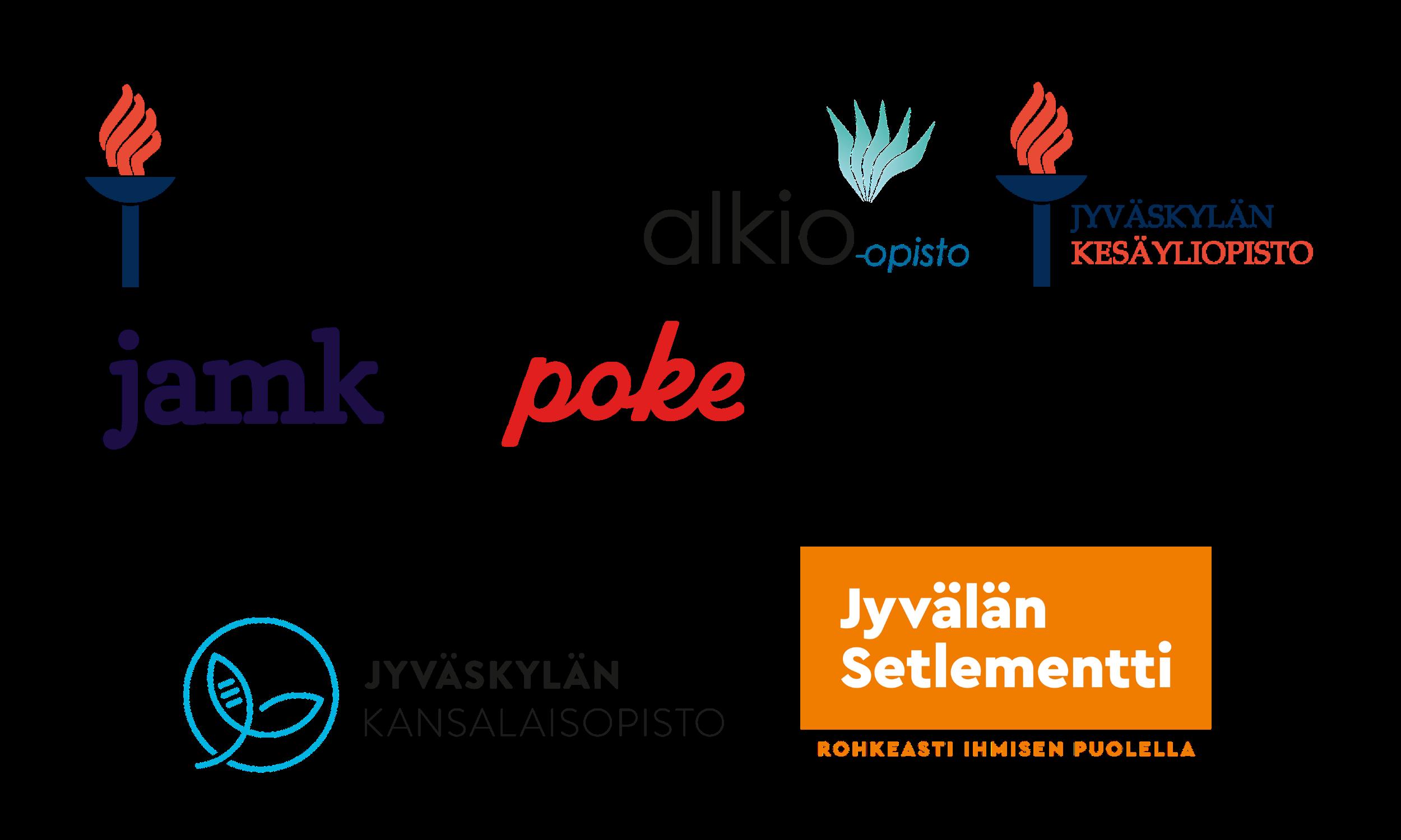 OsaajaKS -hankkeen partnerit.