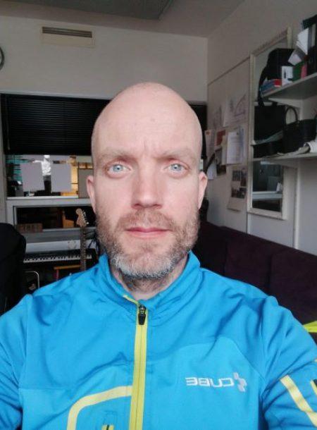 Nuoriso-ohjaaja Riku Ikävalko. Kuva: Riku Ikävalko (2021)