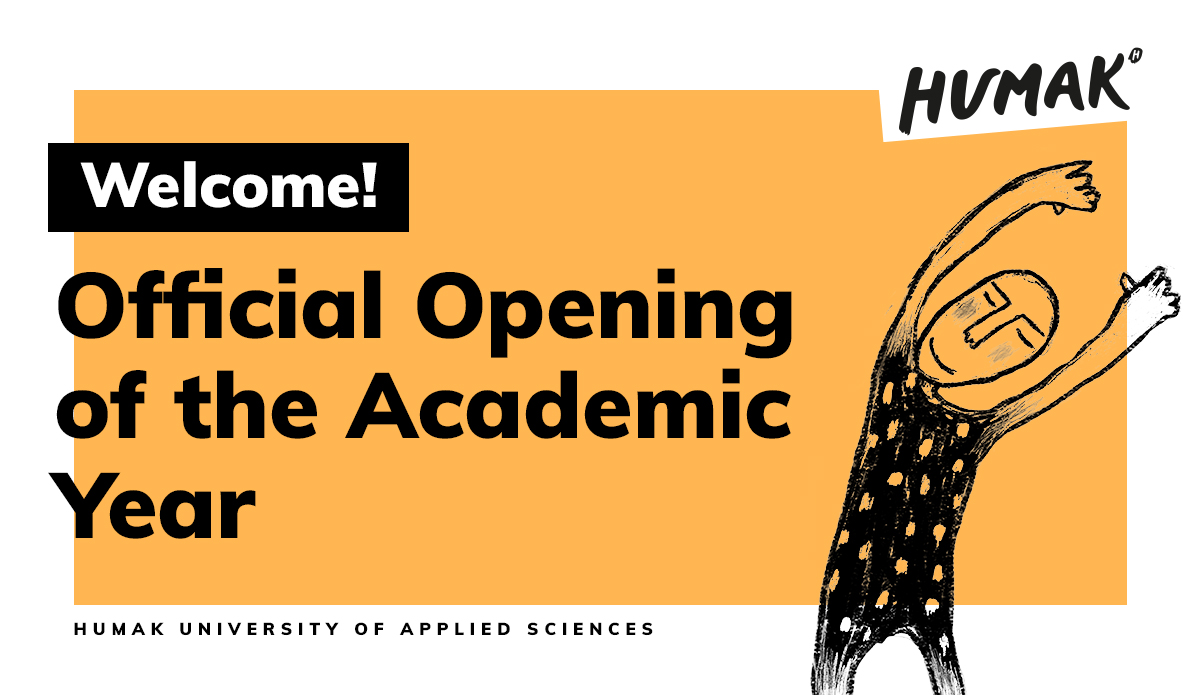 The Official Opening of the Academic Year live streamed on Monday 6.9.2021 at 14.00-15.00