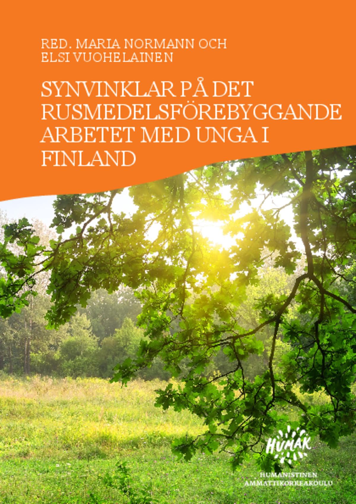 Synvinklar på det rusmedelsförebyggande arbetet med unga i Finland