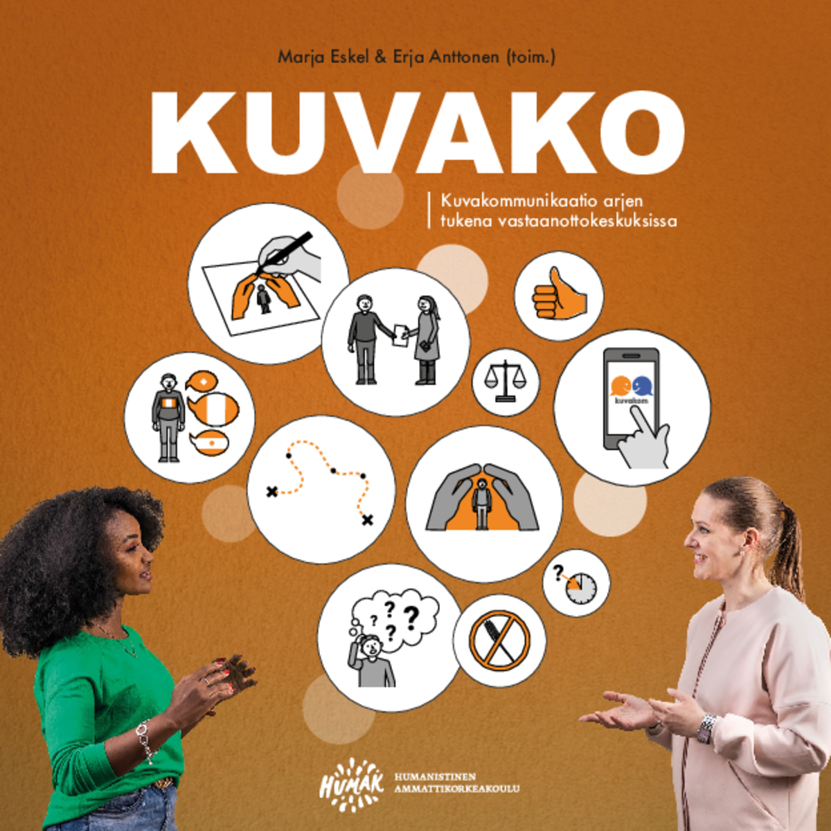 KUVAKO – kuvakommunikaatio arjen tukena vastaanottokeskuksissa